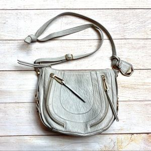 Jessica Simpson grey crossbody/ shoulder bag
